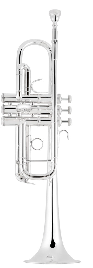 Bach C190SL229 190 Series C Trumpet - Silver Plated