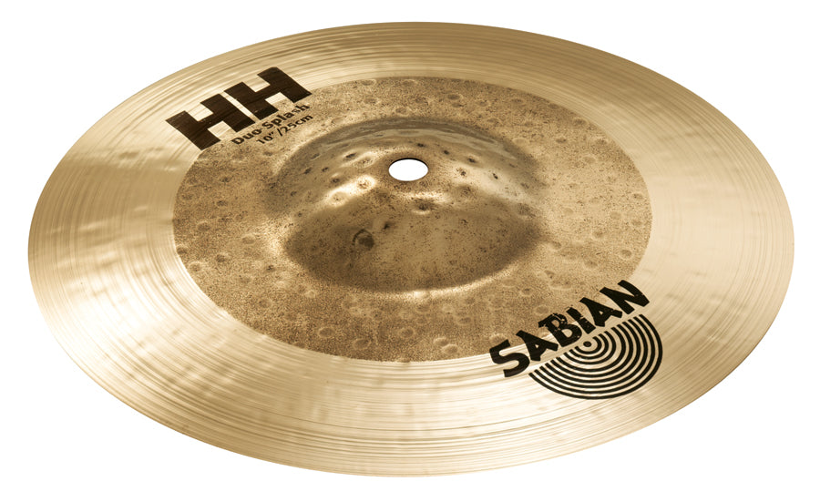 "Sabian 10"" HH Duo Splash Cymbal Brilliant Finish"