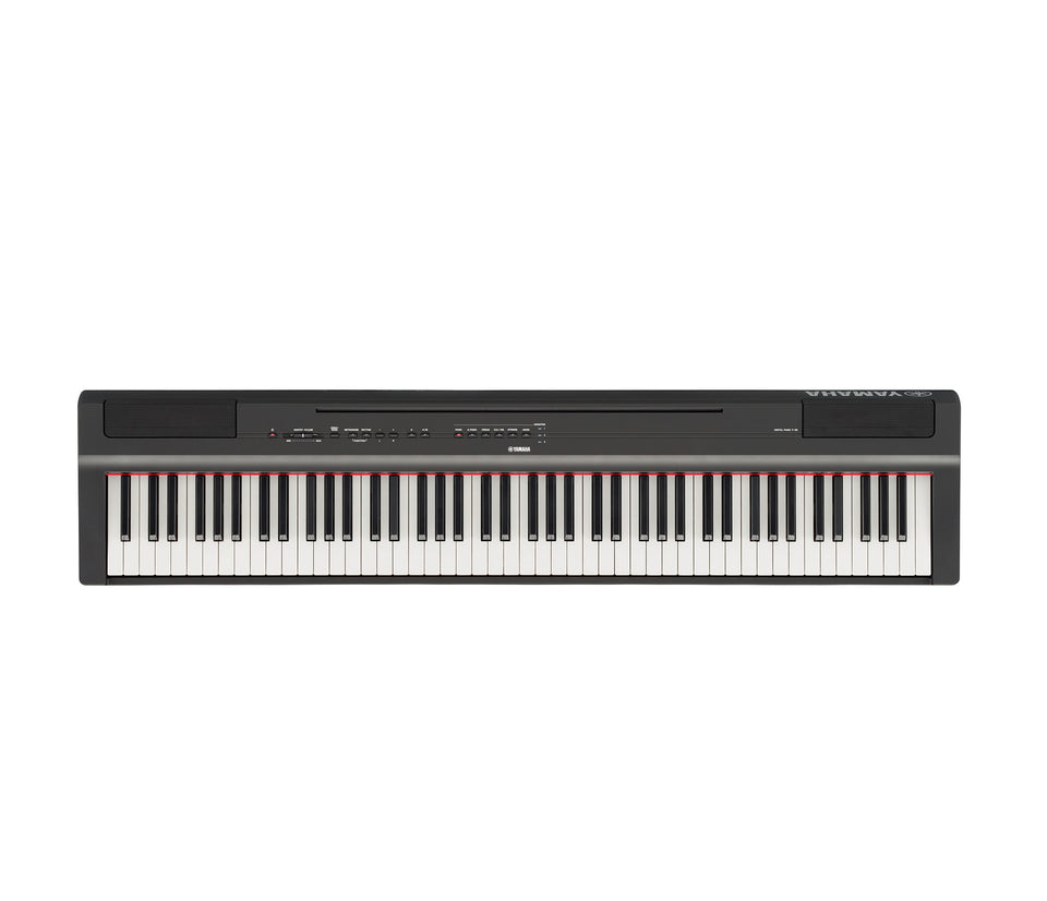 Yamaha P125B 88-Key Digital Piano - Black