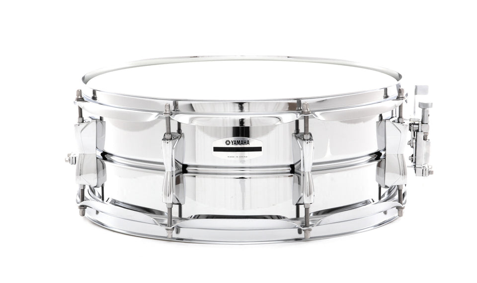 "Yamaha 14"" x 5.5"" Steel Snare Drum"
