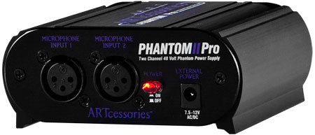 ART Phantom2 Pro Dual Channel 48V Phantom Power Supply