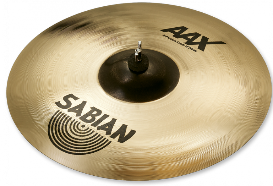 Sabian AAX X-Plosion Crash Cymbal Brilliant Finish