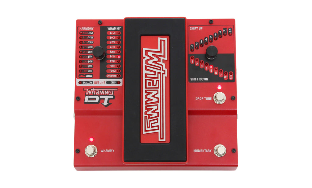 Digitech WHAMMYDT Whammy DT Pitch Shifter Effects Pedal