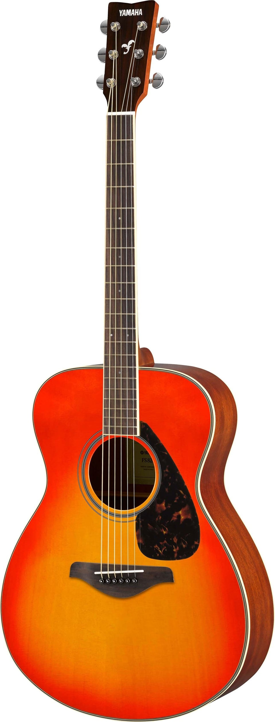 Yamaha FS820 Acoustic Guitar - Autumn Burst