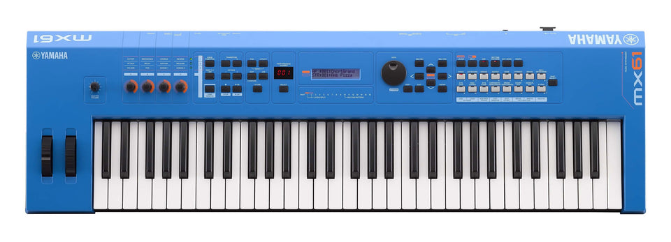 Yamaha MX61BU 61-Key Synthesizer Controller - Blue