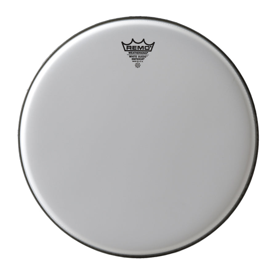 Remo Emperor White Suede Drum Head