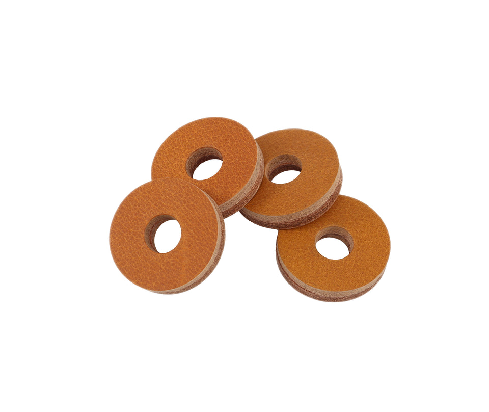 Tackle Leather Cymbal Washer - 4 Pack