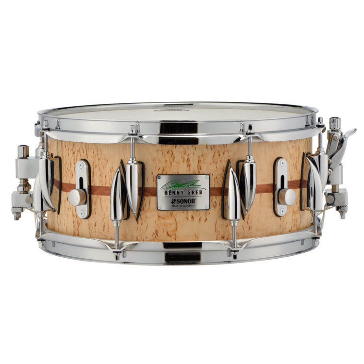 "Sonor 13"" x 5.75"" Benny Greb Beech Signature Snare Drum"