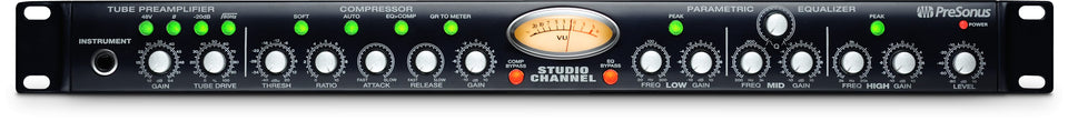PreSonus Studio Channel 1-Channel Tube Channel Strip