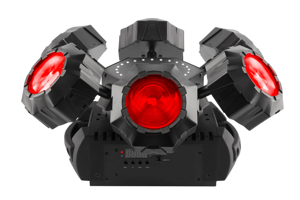 CHAUVET DJ HELICOPTER Q6 Rotating Multi Beam Effect Light