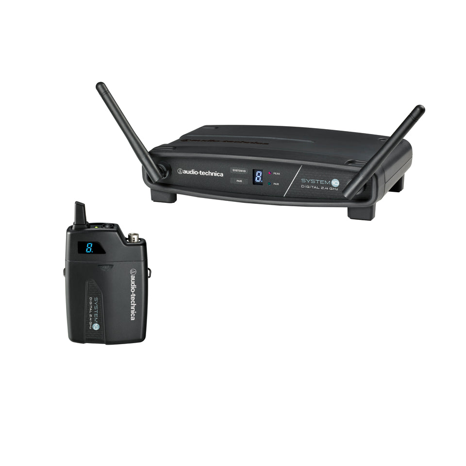 Audio-Technica ATW-1101 System 10 Bodypack Digital Wireless System - 2.4GHz
