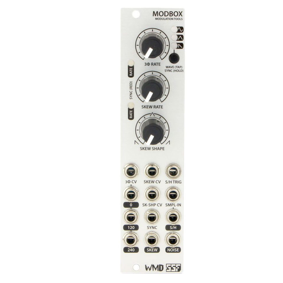 WMD/SSF Modbox Tempo Syncable Modulation Source Eurorack Module