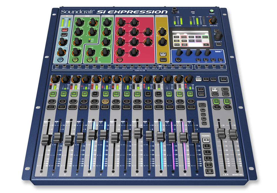 Soundcraft Si Expression 1 16 Channel Digital Mixer