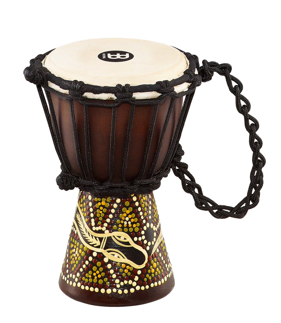 Meinl HDJ6-XXS African Mini Djembe-Dark Serpent Design