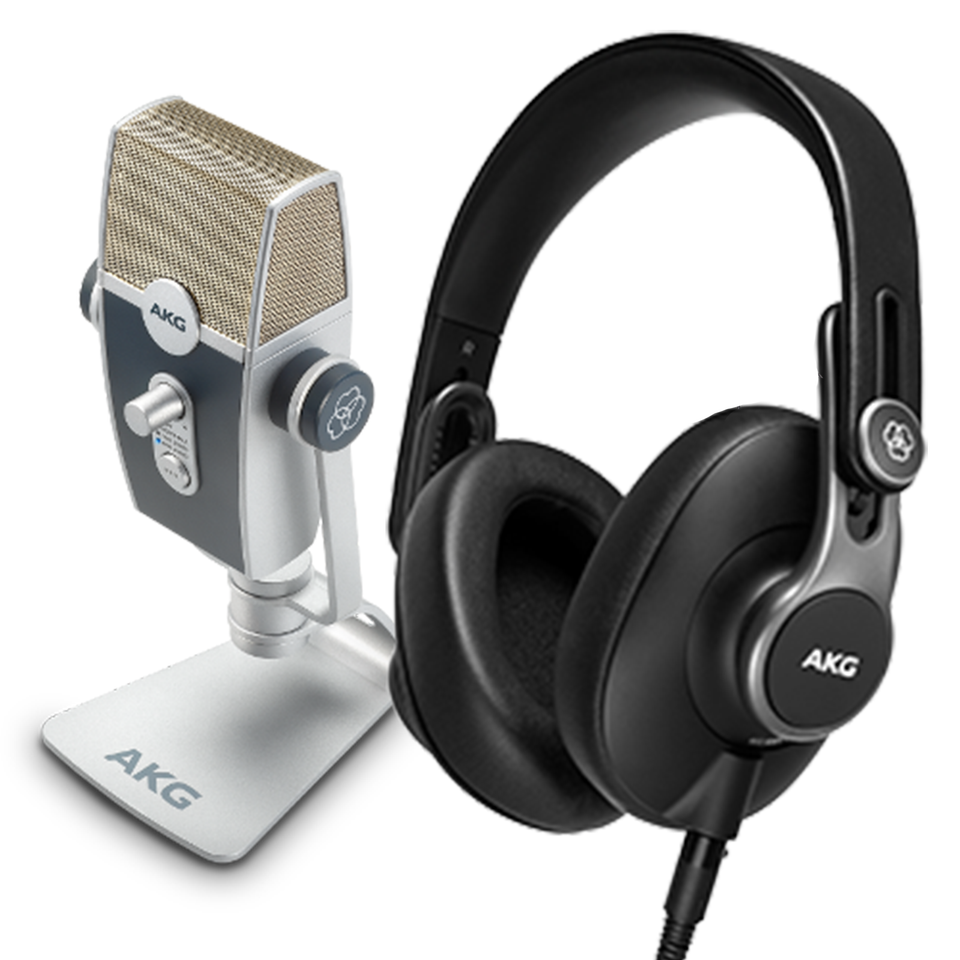 AKG Podcaster Essentials Audio Production Toolkit
