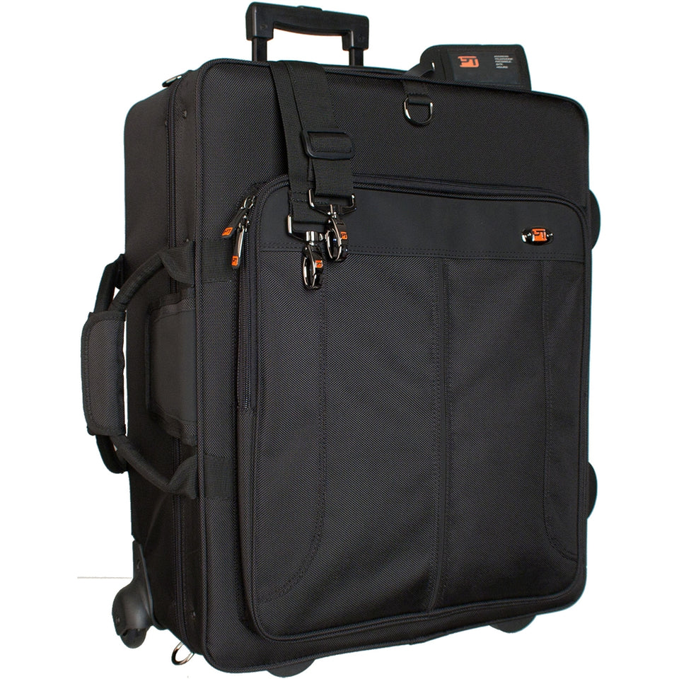 ProTec Quad Horn IPAC Case With Wheels