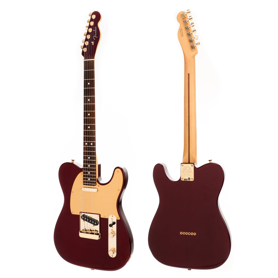 Chuck Levin's 60th Anniversary Fender Telecaster - Bordeaux Metallic