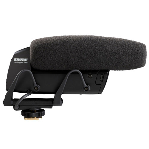 Shure VP83 LensHopper™ Camera-Mount Condenser Microphone