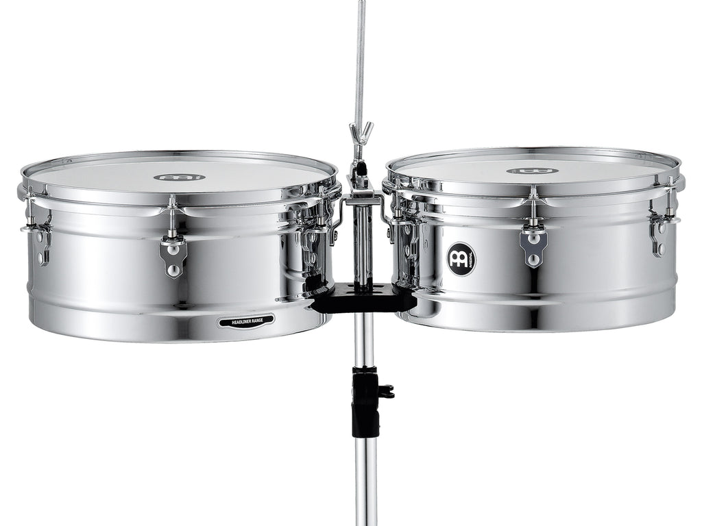 "Meinl HT1314CH Headliner Series Timbales 13"" & 14"""