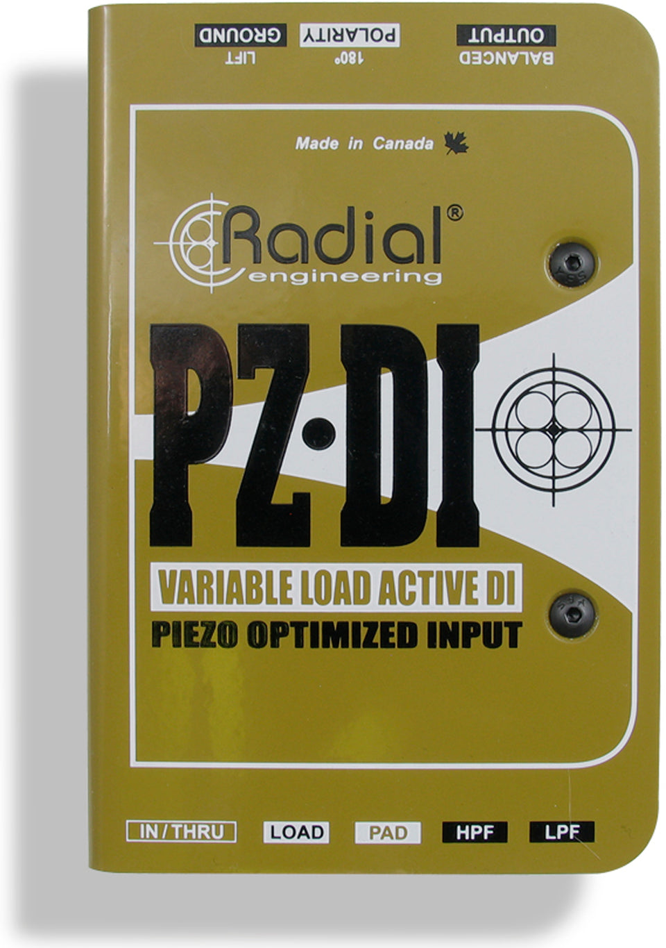 Radial Engineering PZ-DI Orchestral Instrument DI Box