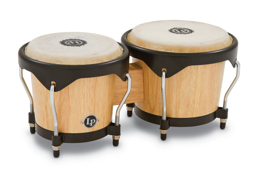 LP LP601NY-AW City Wood Bongos, Natural