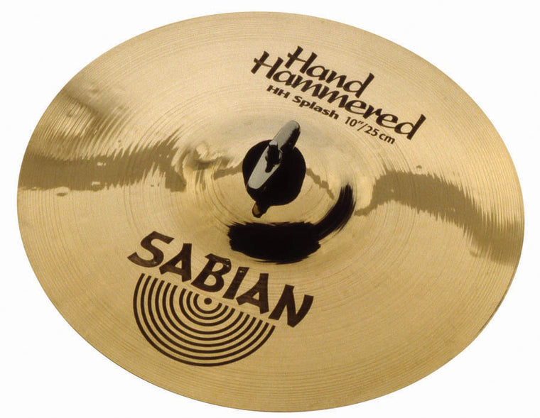 "Sabian 10"" HH Splash Cymbal Brilliant Finish"