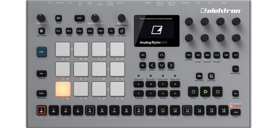 Elektron Analog Rytm MKII Drum Machine