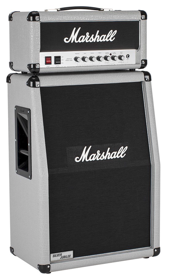 Marshall 2536A 140W 2x12 Silver Jubilee Angled Amplifier Cabinet