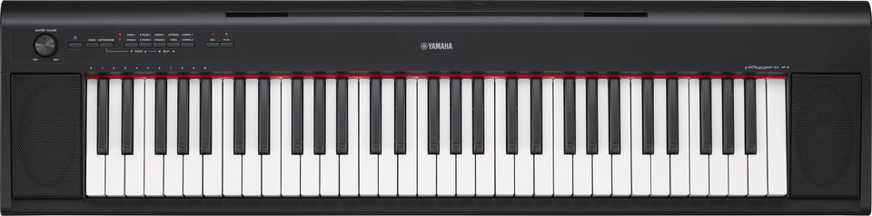 Yamaha NP12 Piaggero Digital Piano - Black