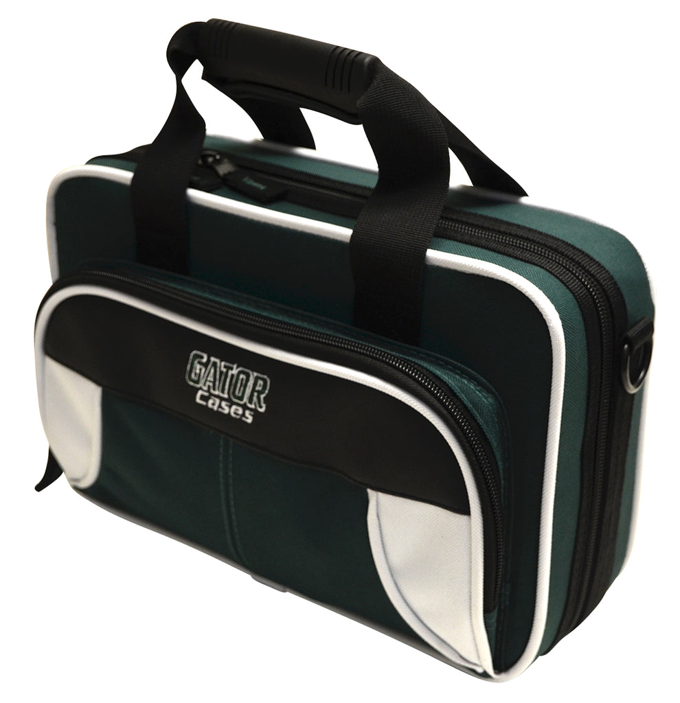 Gator GL-CLARINET-WG Spirit Series Lightweight Clarinet Case, White And Green