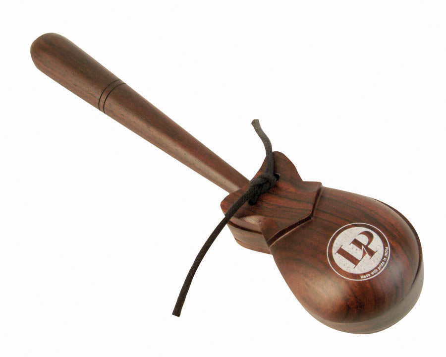 LP LP430 Professional Castanets, Single (Rosewood)