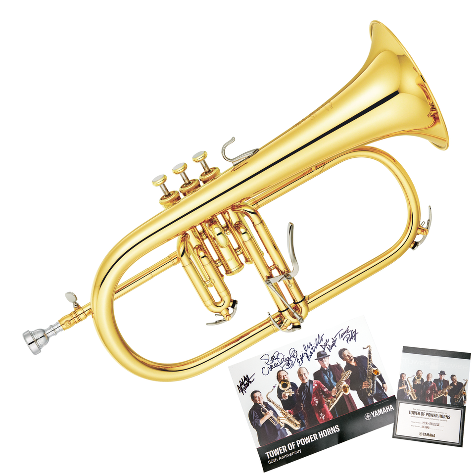 Yamaha YFH-8310Z Tower of Power Hand-Selected Bb Flugelhorn