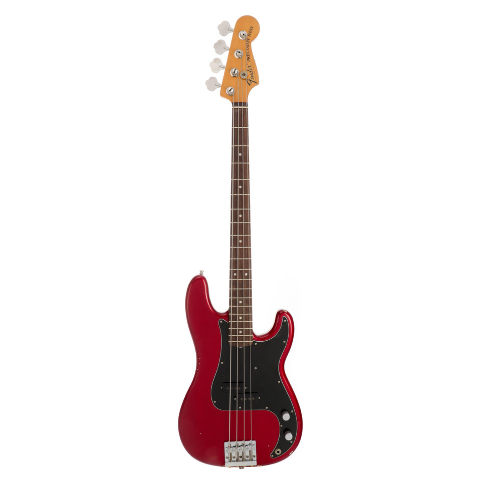 Fender Nate Mendel Precision Bass, Rosewood Fingerboard - Candy Apple Red