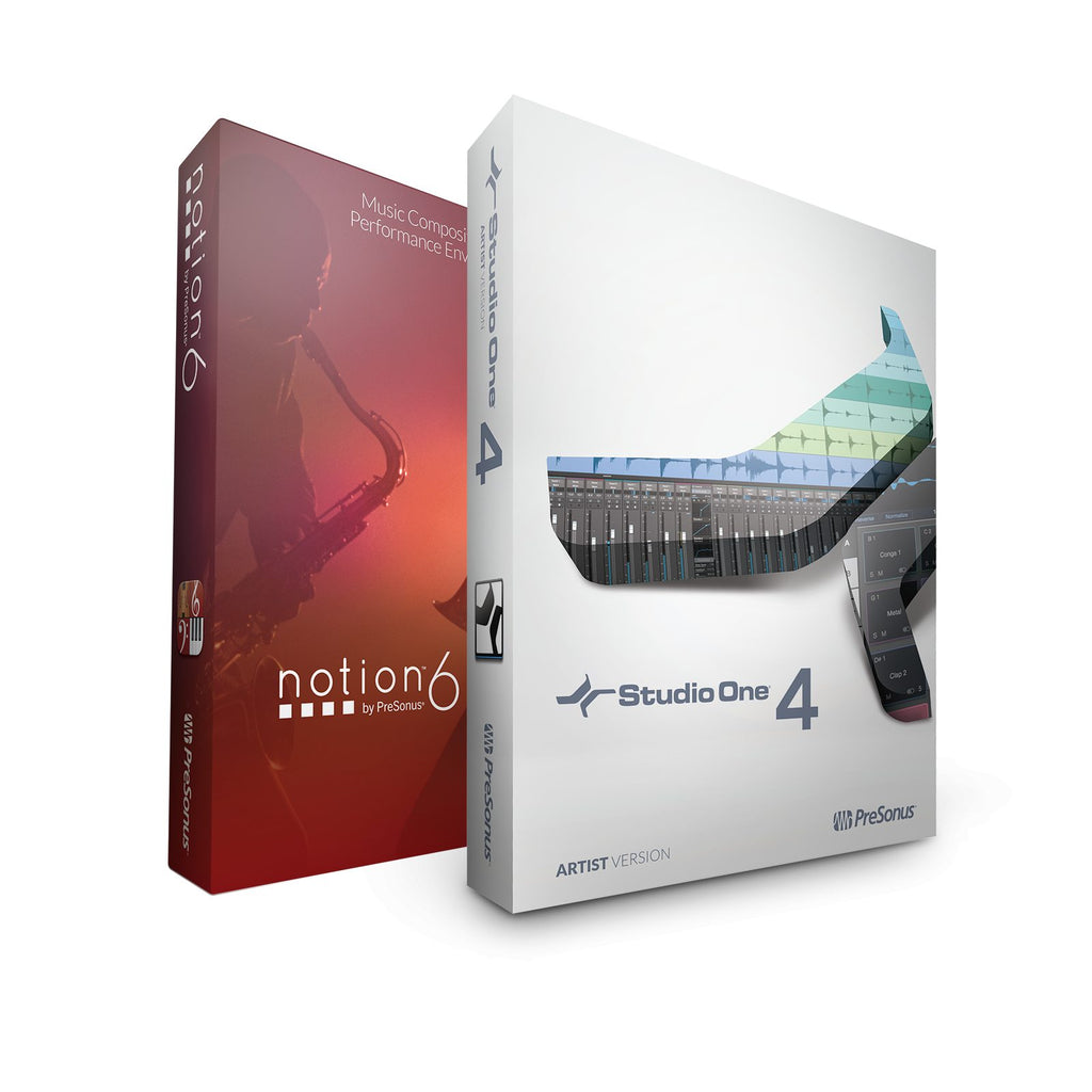 Presonus Studio One 4 Artist / Notion Bundle / Digital Software