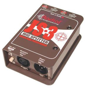 Radial Engineering JS3 Passive Microphone Splitter (3-Way)