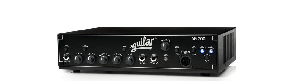 Aguilar AG 700 700w Bass Amplifier Head