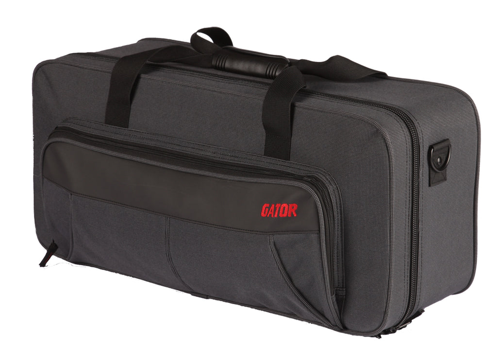 Gator GL-TRUMPET-MUTE Rigid EPS Polyfoam Lightweight Case For Trumpet With Mute Storage