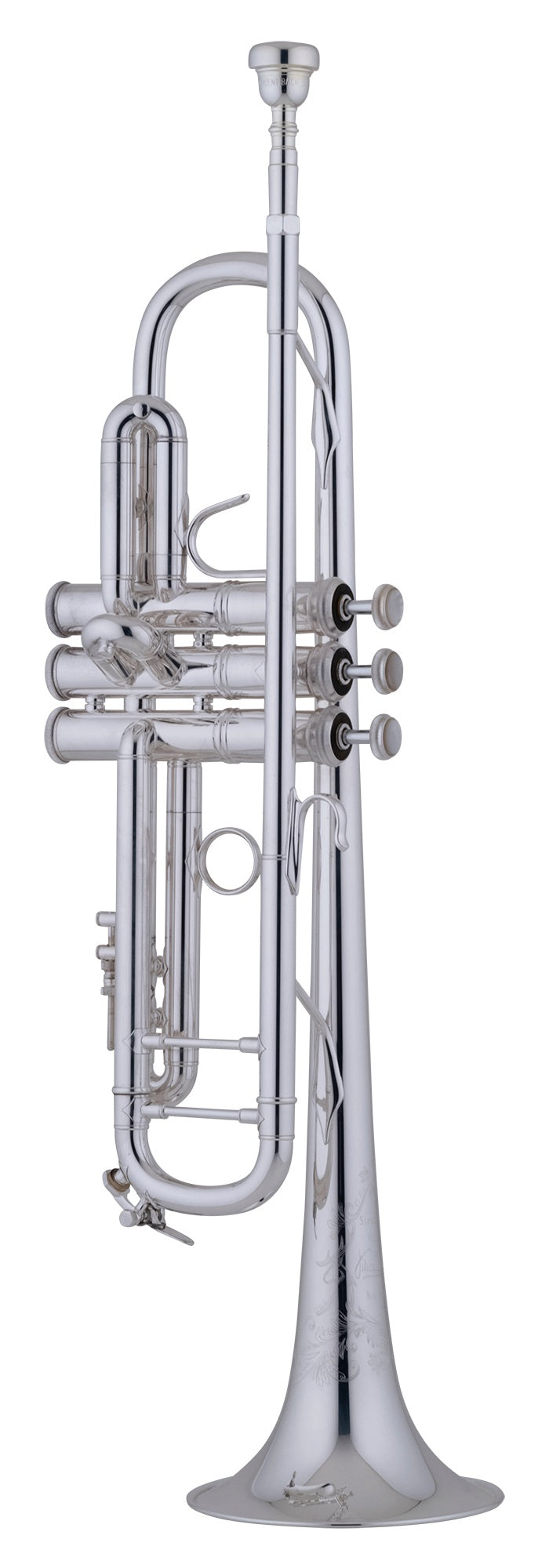 Bach 190S43 Stradivarius Professional B-Flat Trumpet Outfit - Silver-Plated