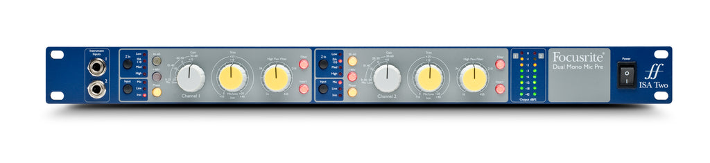 Focusrite ISA TWO Microphone Preamplifier