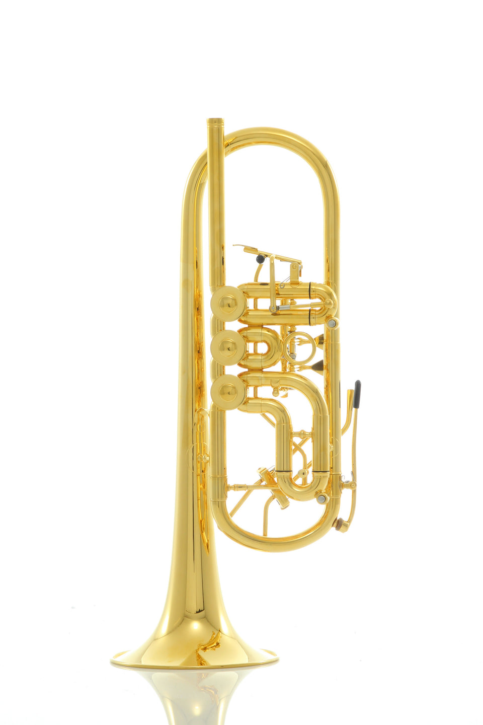 Schagerl Horsdorf Heavy Gold Plated C Trumpet