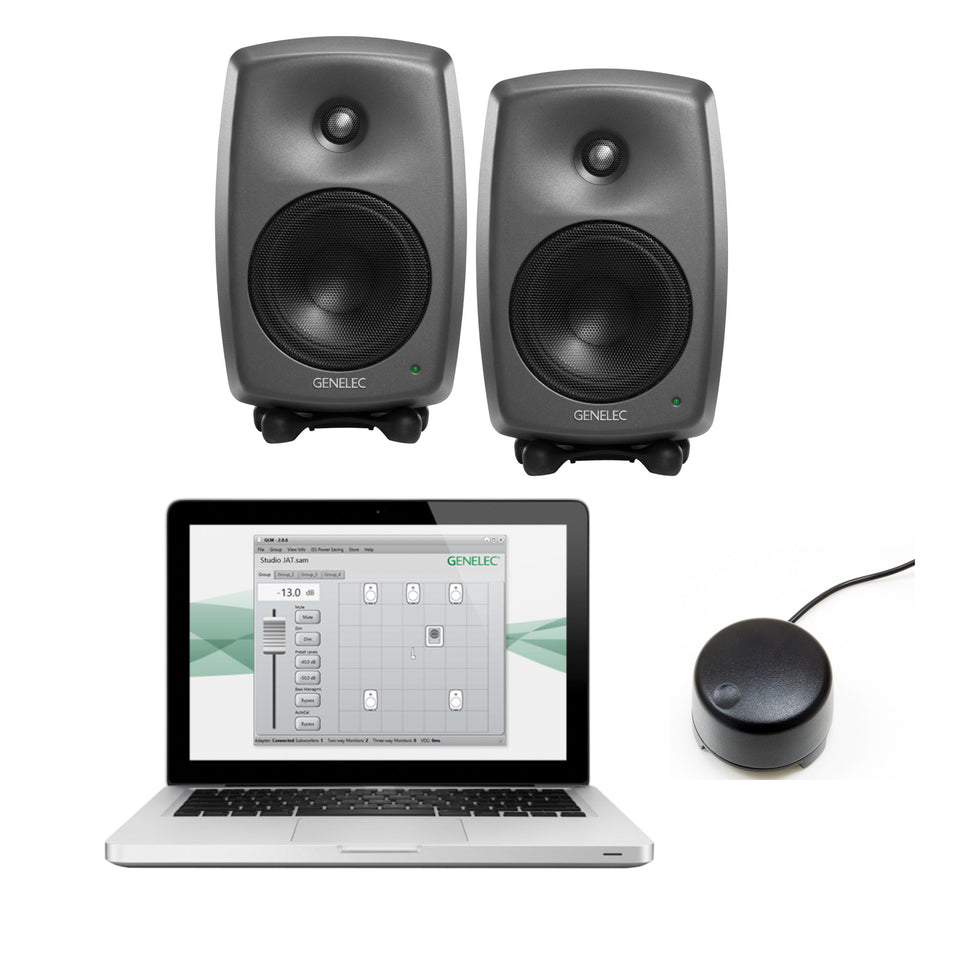 Genelec 8330 Stereo SAM Series Package