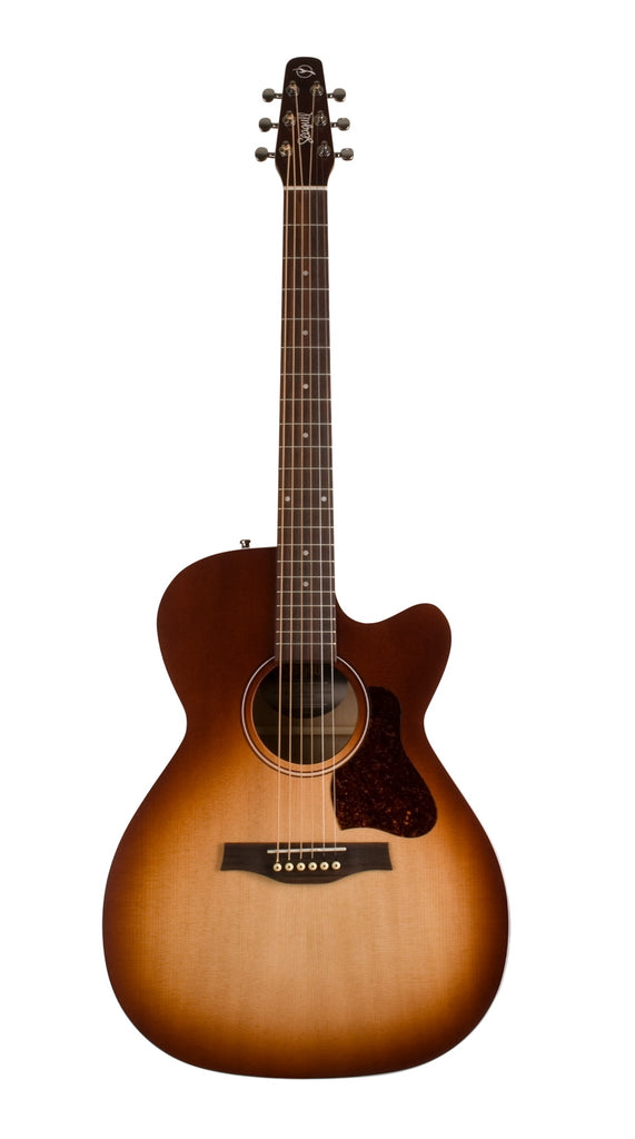 Seagull Entourage Concert Hall Cutaway Acoustic Electric Guitar - Autumn Burst