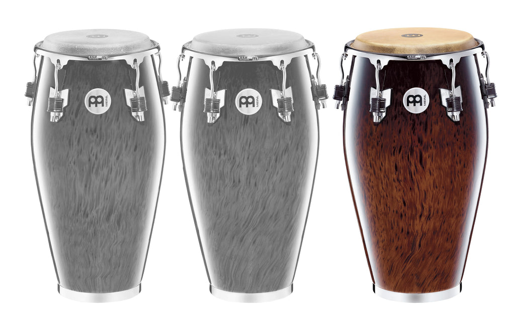 "Meinl MP1212BB Professional Series 12 1/2"" Tumba - Brown Burl"