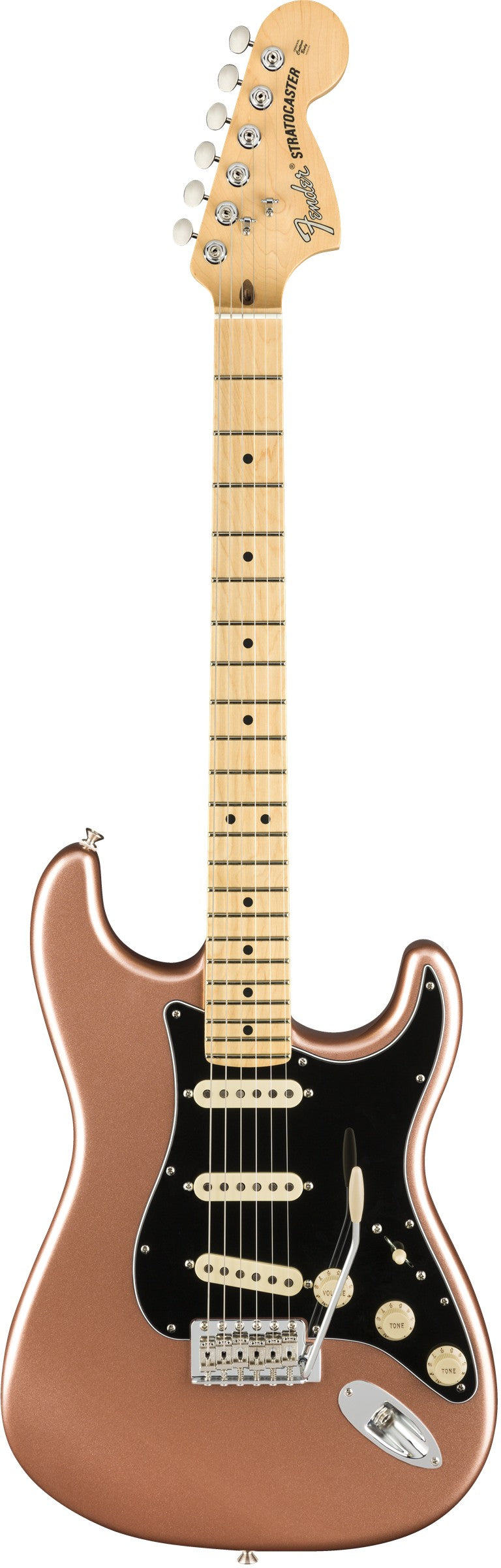Fender American Performer Stratocaster Electric Guitar, Maple Fingerboard - Penny