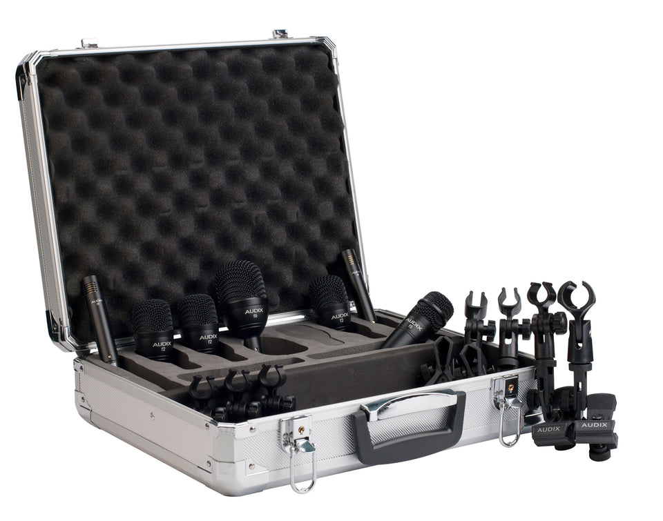 Audix FP7 Fusion Series 7-Piece Drum Microphone Package