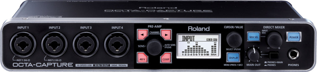 Roland UA-1010 OCTA-CAPTURE Hi-Speed USB Audio Interface