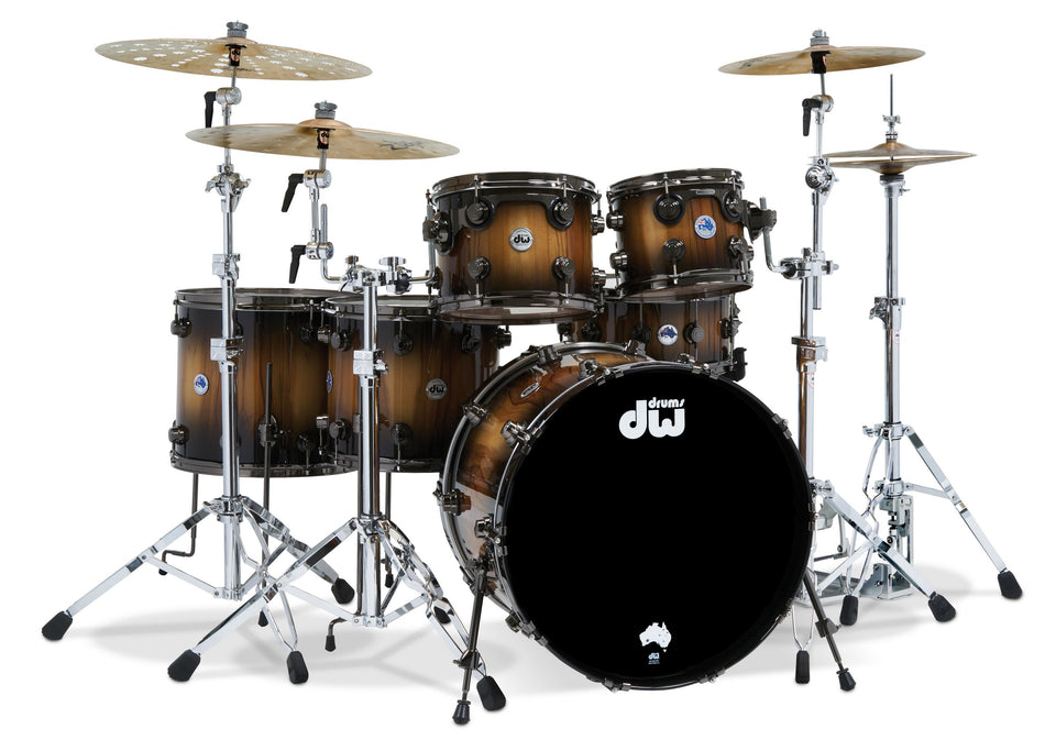 DW Collector's Limited Edition Pure Tasmanian Timber 6-Piece Drum Kit
