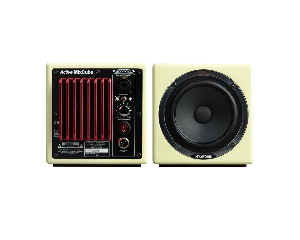 Avantone Pro Active MixCube Powered Full-Range Mini Reference Monitors (Pair)