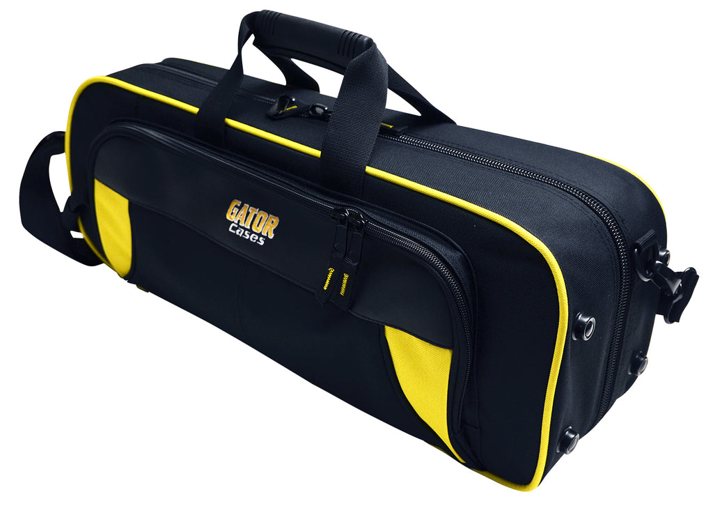 Gator GL-TRUMPET-YK Spirit Series Lightweight Trumpet Case, Yellow And Black