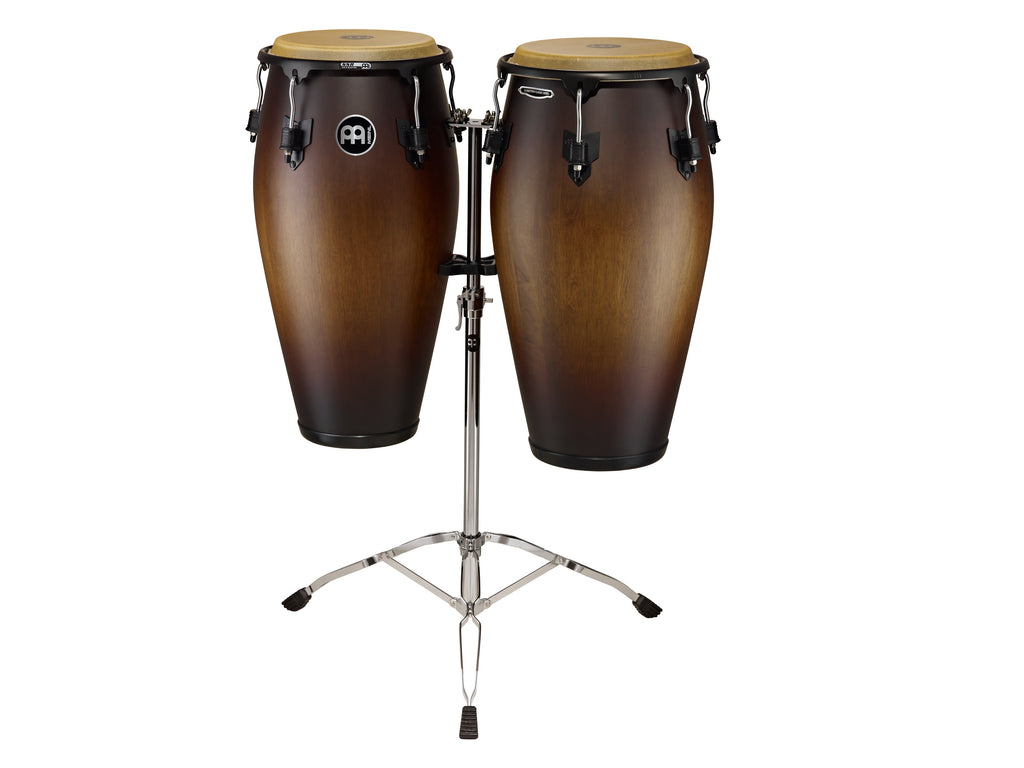 Meinl MCC-SET-ATB-M Marathon Classic Series Conga Set w/Stand-Antique Tobacco Burst